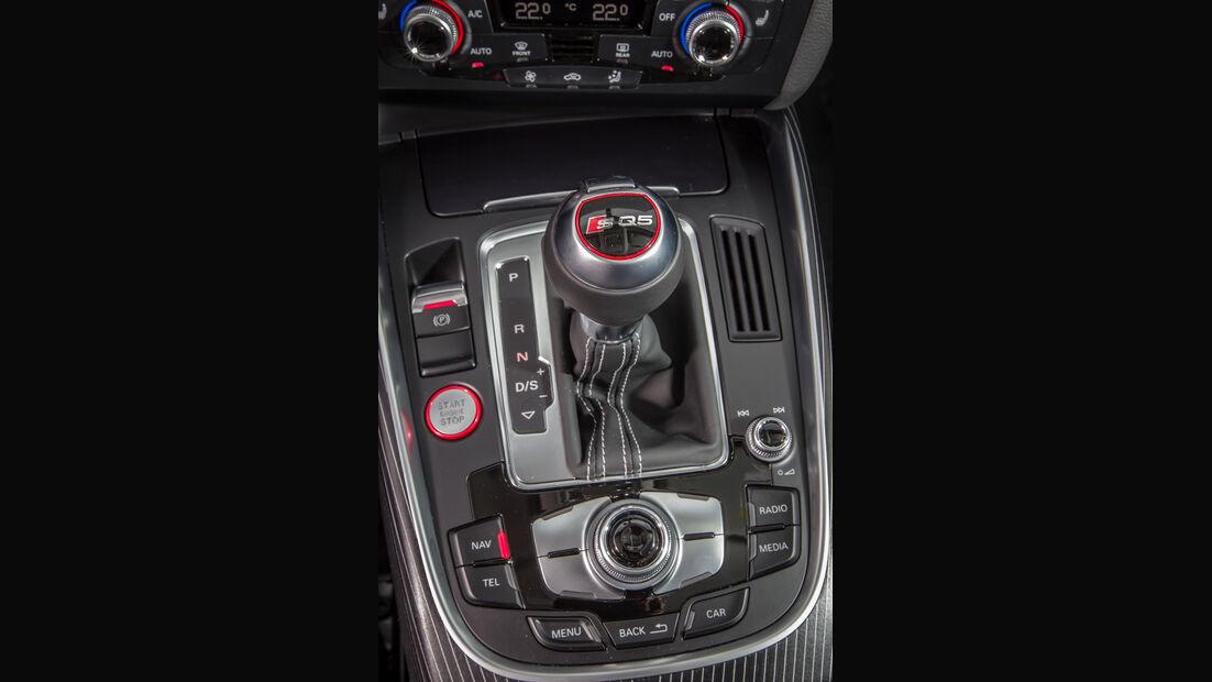 Audi SQ5 3.0 TDI, Schalthebel