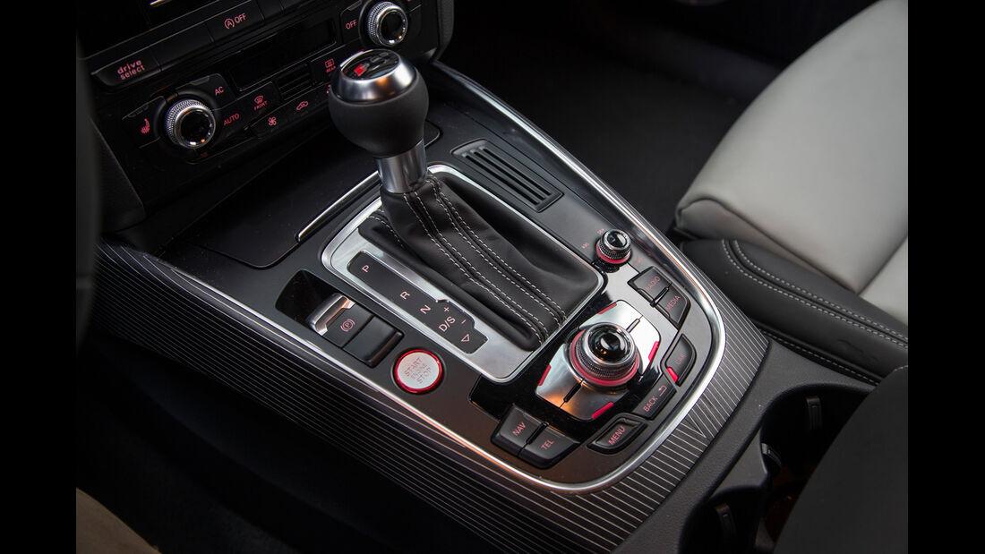 Audi SQ5 3.0 TDI, Schalthebel, Schaltknauf