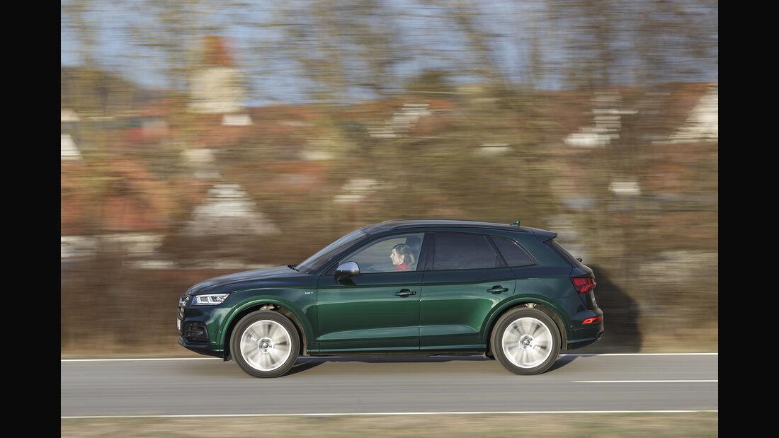 Audi SQ5 3.0 TFSI Quattro, Exterieur, Seite