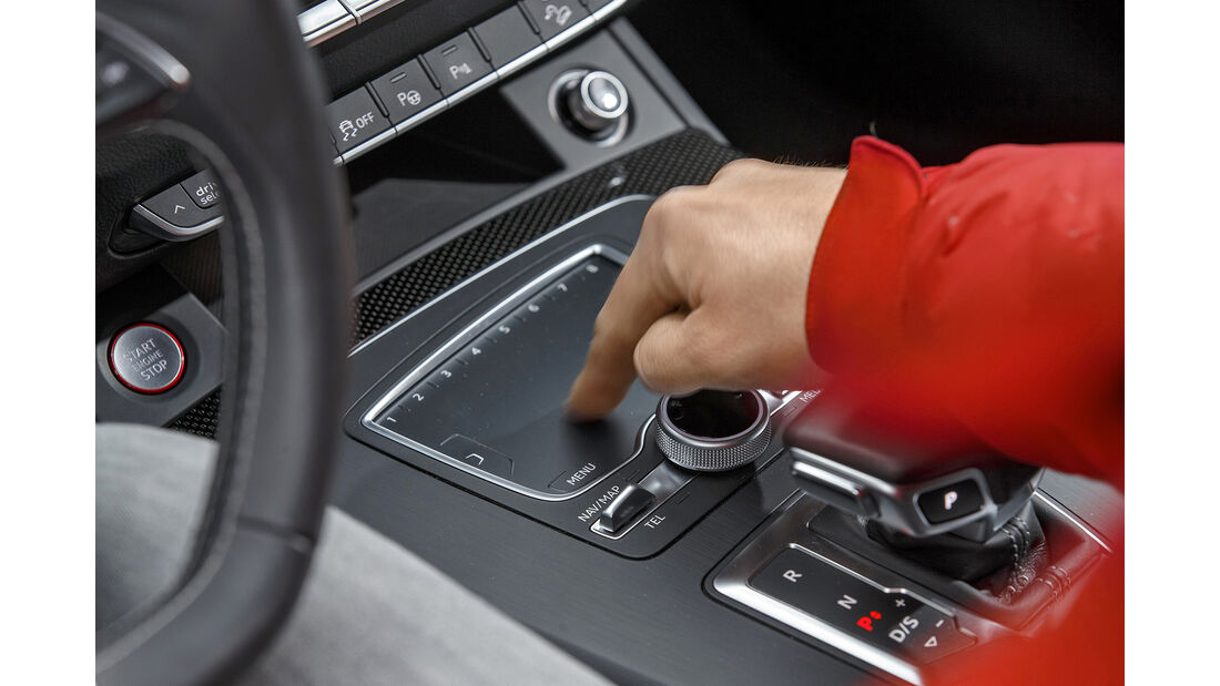 Audi SQ5 3.0 TFSI Quattro, Interieur