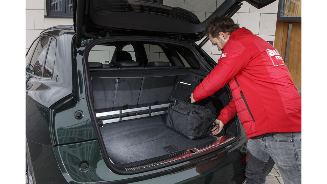 Audi SQ5 3.0 TFSI Quattro, Kofferraum