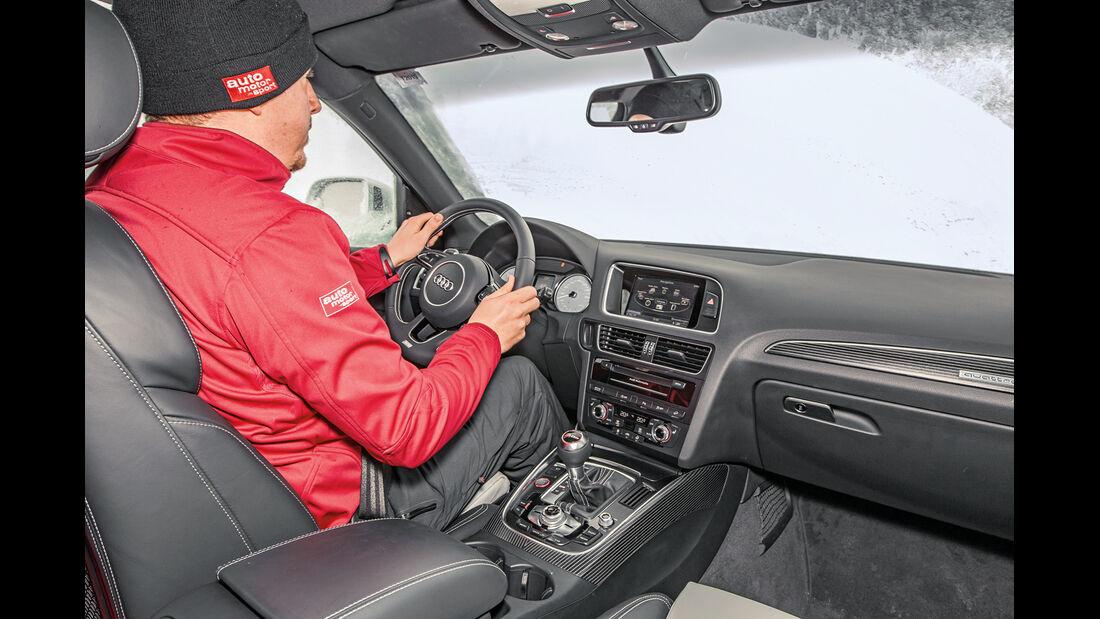 Audi SQ5, Cockpit, Fahrersicht