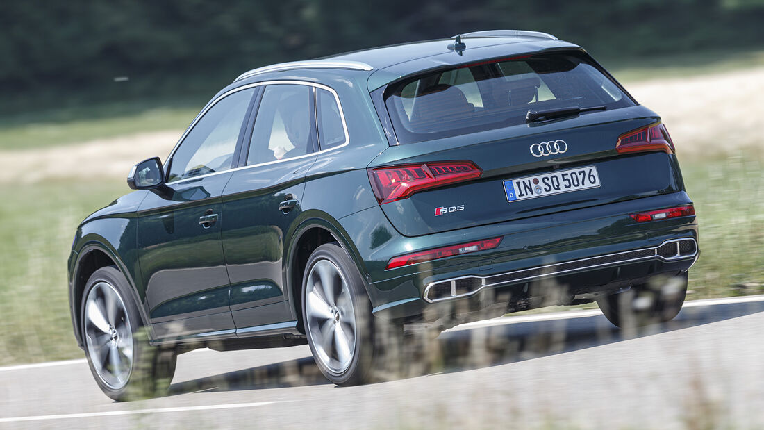 Audi SQ5, Exterieur