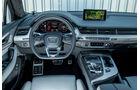 Audi SQ7 4.0 TDI Quattro, Cockpit