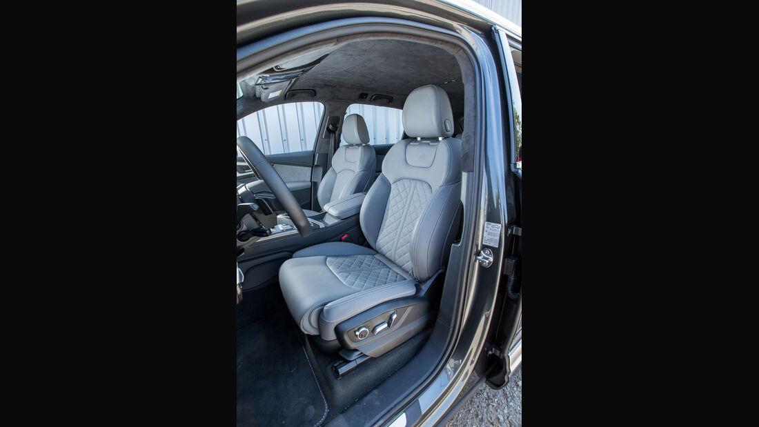 Audi SQ7 4.0 TDI Quattro, Fahrersitz
