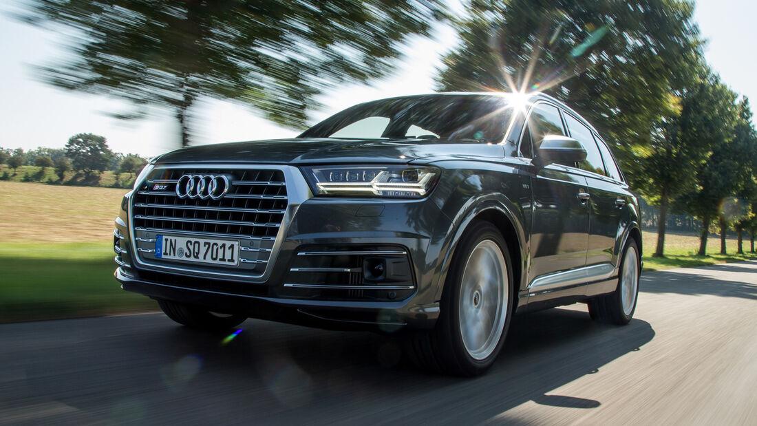 Audi SQ7 4.0 TDI Quattro, Frontansicht