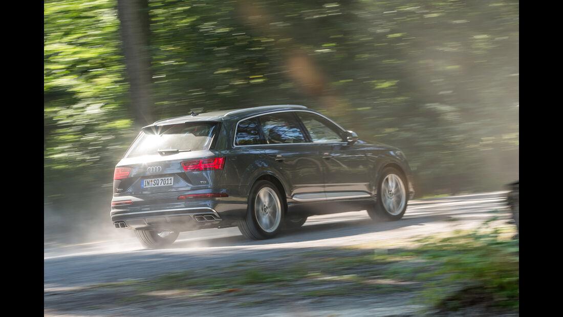 Audi SQ7 4.0 TDI Quattro, Heckansicht