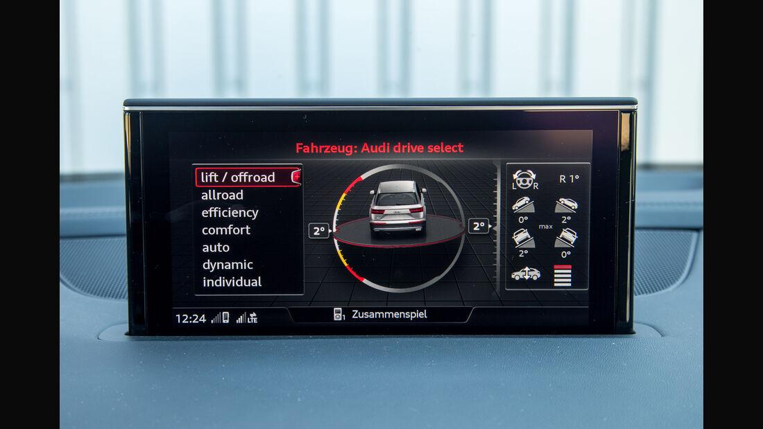 Audi SQ7 4.0 TDI Quattro, Infotainment