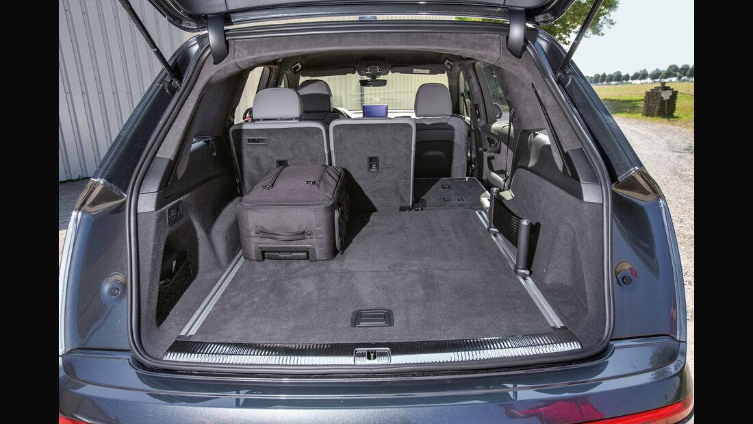 Audi SQ7 4.0 TDI Quattro, Kofferraum