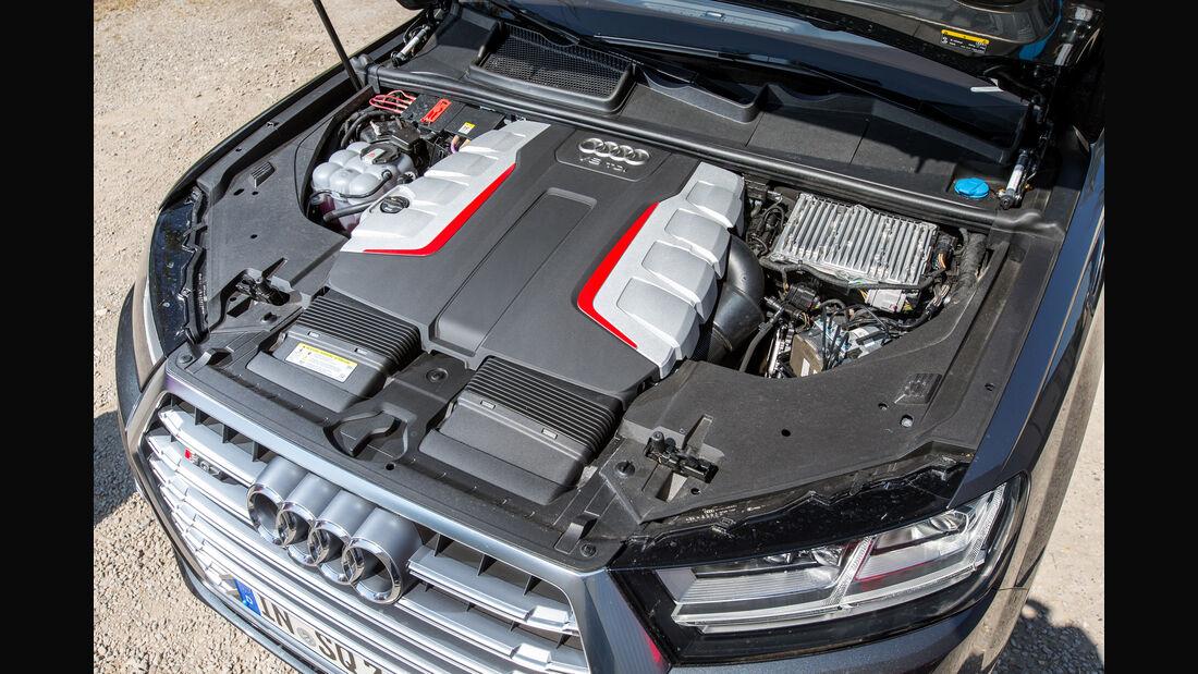 Audi SQ7 4.0 TDI Quattro, Motor