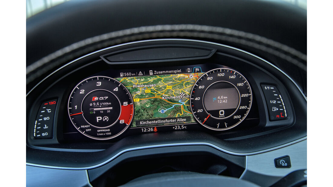 Audi SQ7 4.0 TDI Quattro, Navi