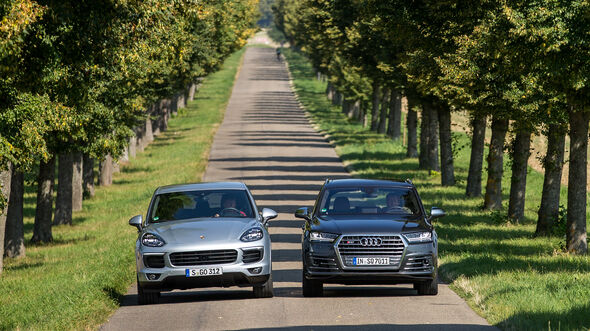 Audi SQ7 4.0 TDI Quattro, Porsche Cayenne S Diesel