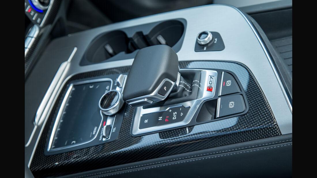 Audi SQ7 4.0 TDI Quattro, Schalthebel