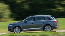 Audi SQ7 4.0 TDI Quattro, Seitenansicht