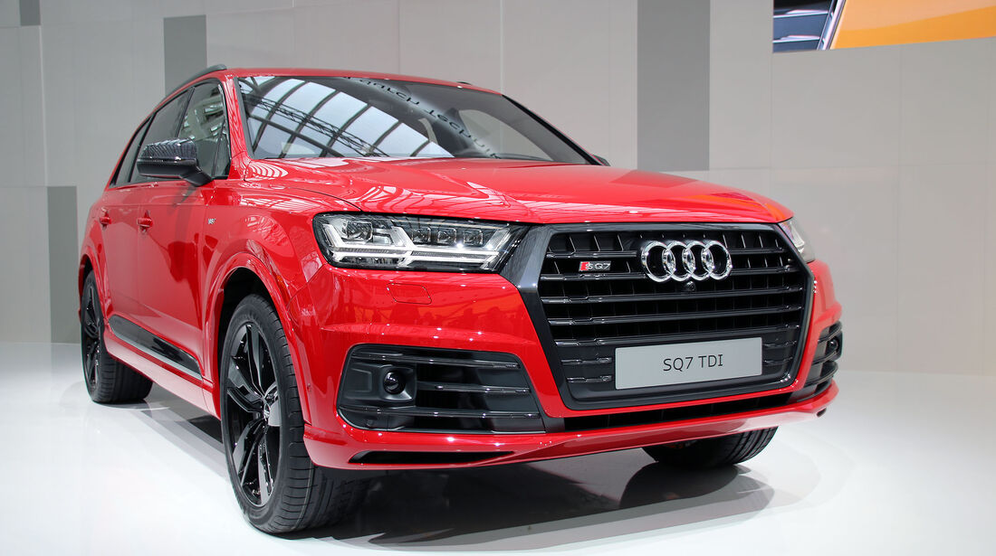 Audi SQ7 4.0 TDI Weltpremiere auf der Audi Jahrespressekonferenz 2016