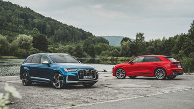 Audi SQ7, Audi SQ8, Exterieur