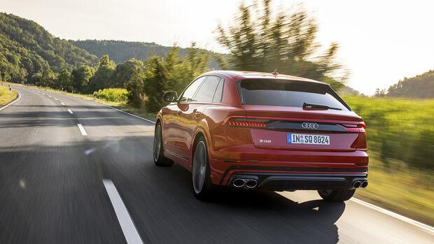 Audi SQ7, Exterieur