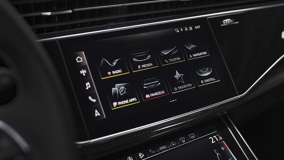 Audi SQ7, Interieur