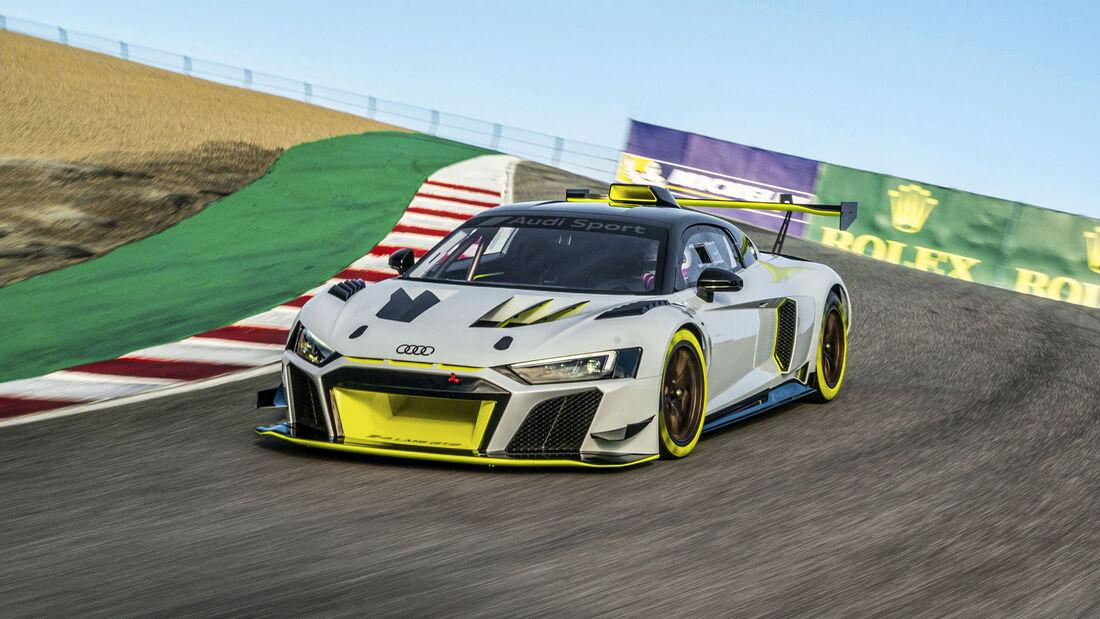 Audi Sport GmbH, Audi R8 GT2, Exterieur