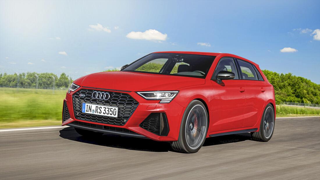 Audi Sport GmbH, Audi RS3, Exterieur