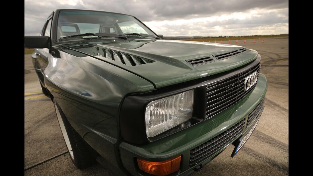 Audi Sport Quattro, Frontscheinwerfer