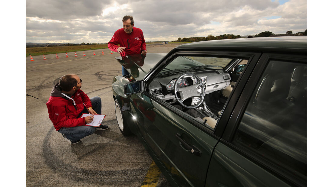 Audi Sport Quattro, Impression