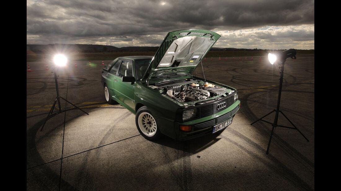 Audi Sport Quattro, Motor