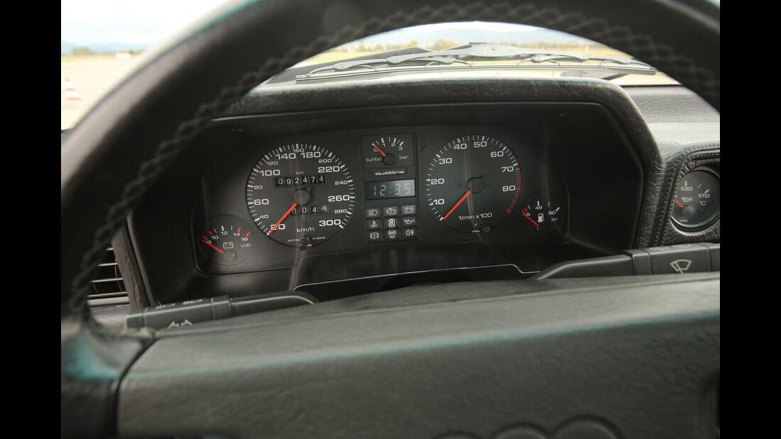 Audi Sport Quattro, Rundinstrumente
