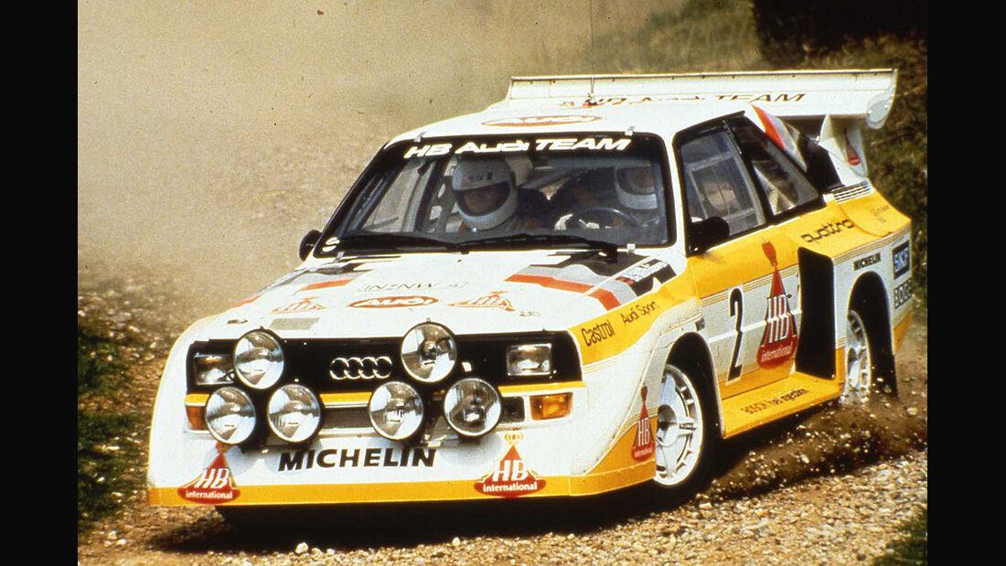 Audi Sport Quattro S1 1986