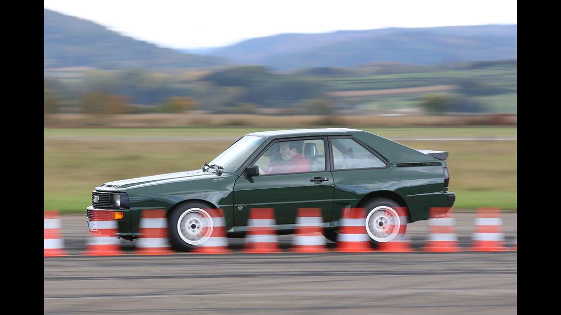 Audi Sport Quattro, Seitenansicht