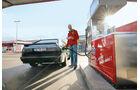 Audi Sport Quattro, Tankstelle