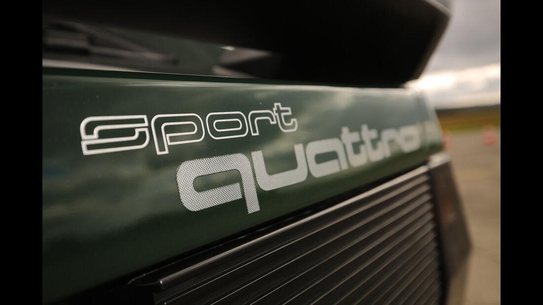Audi Sport Quattro, Typenbezeichnung