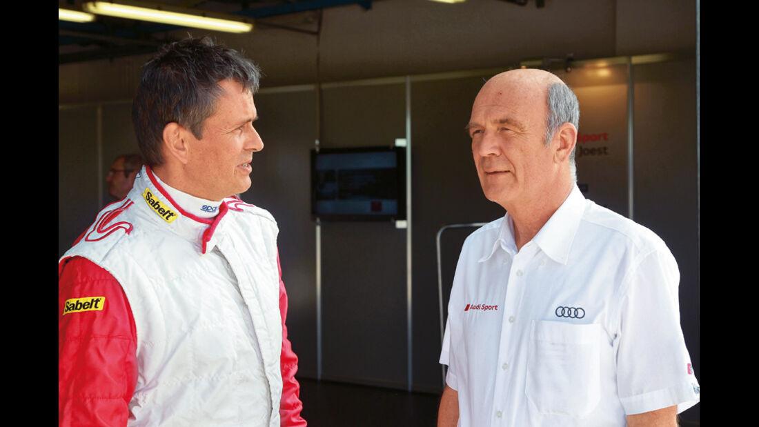 Audi-Sportchef Ullrich, Marcus Schurig