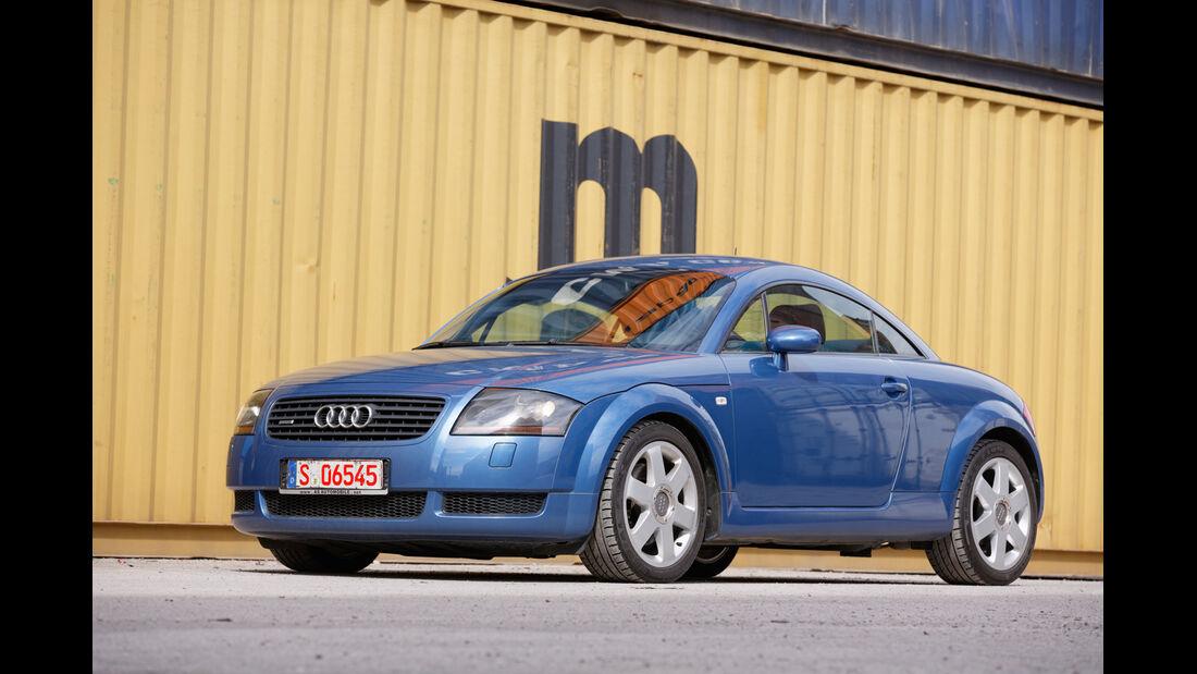 Audi TT 1.8 T Quattro, Frontansicht