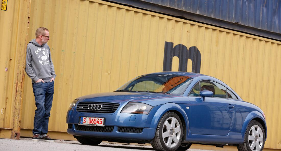Audi TT 1.8 T Quattro, Miochael Orth, Seitenansicht