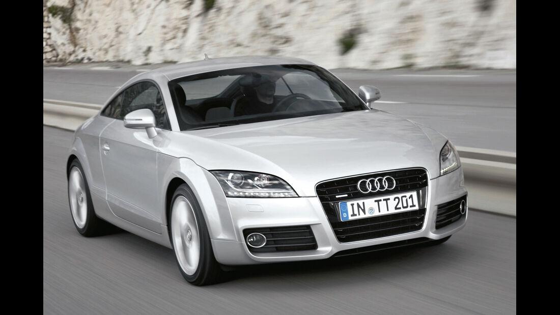 Audi TT 1.8 TFSI, Frontansicht