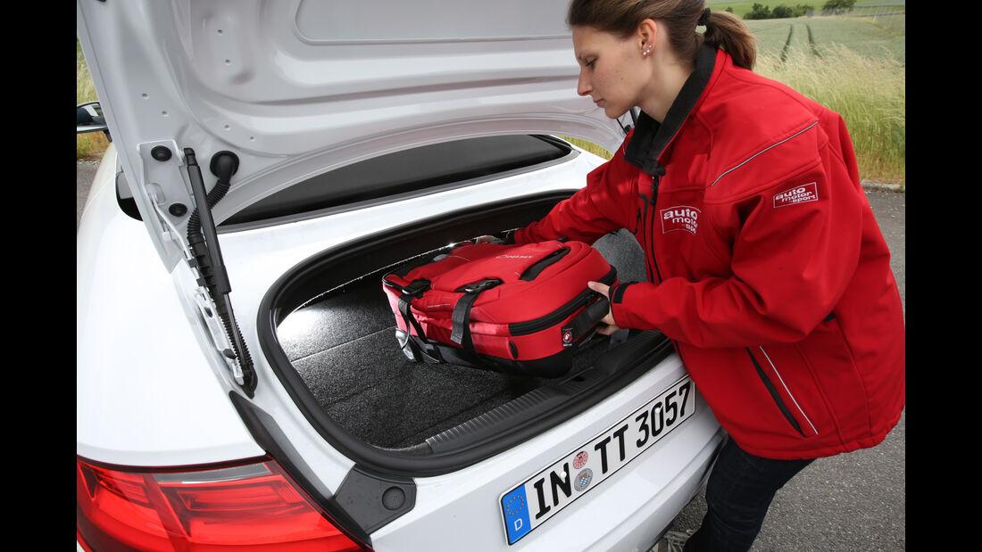 Audi TT 2.0 TDI, Coupé, Roadster, Vergleich