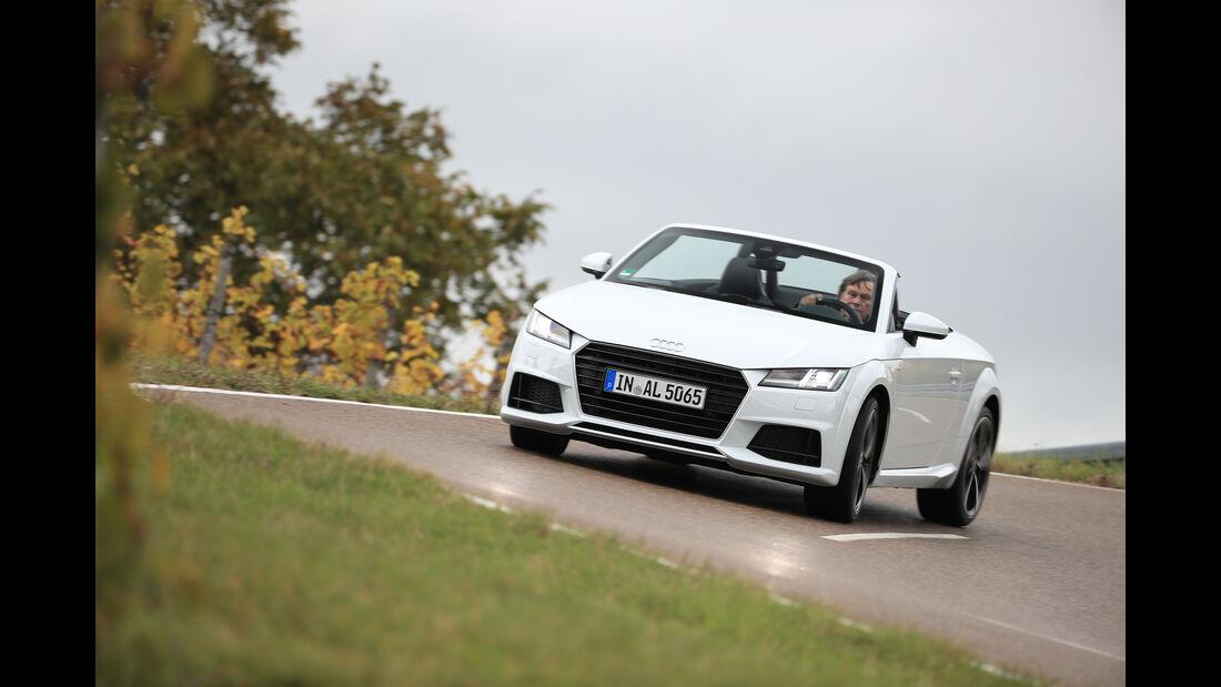 Audi TT 2.0 TDI Ultra, Frontansicht