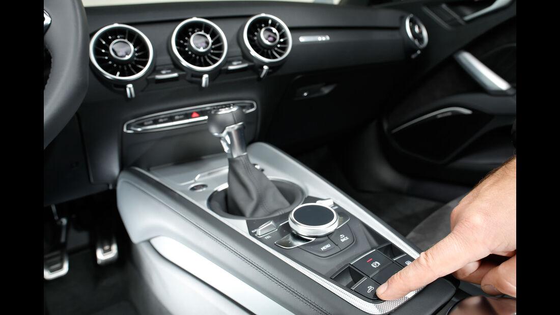 Audi TT 2.0 TDI Ultra, Schalthebel