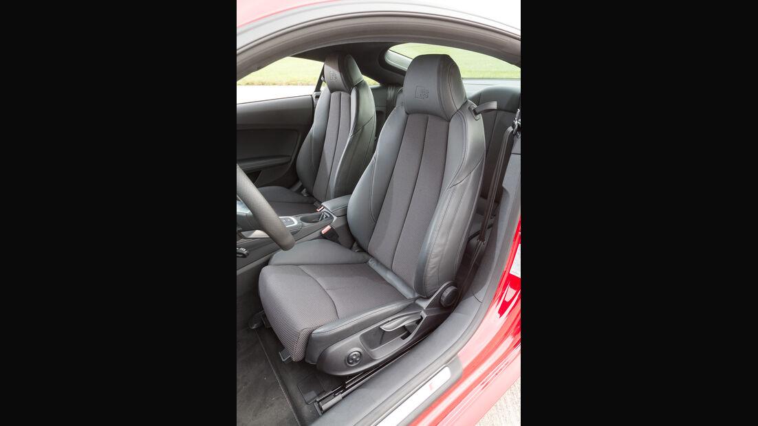 Audi TT 2.0 TFSI, Fahrersitz