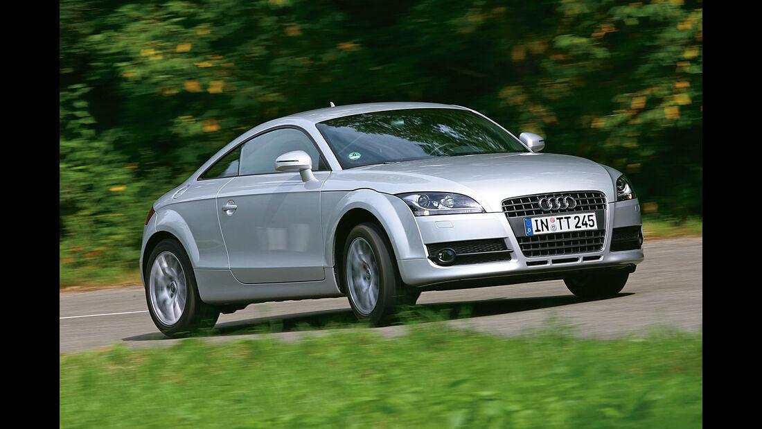 Audi TT 2.0 TFSI, Frontansicht