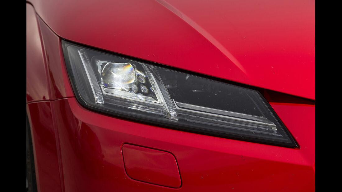 Audi TT 2.0 TFSI, Frontscheinwerfer
