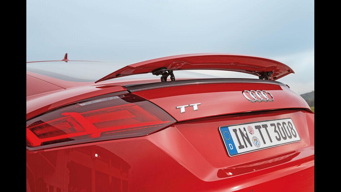 Audi TT 2.0 TFSI, Heckspoiler