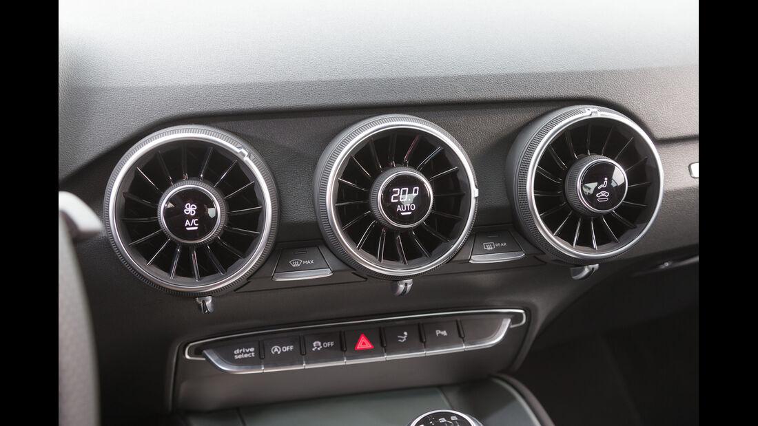 Audi TT 2.0 TFSI, Luftausströmer