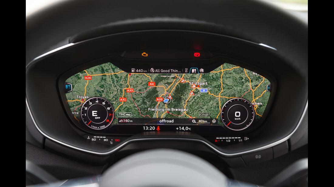 Audi TT 2.0 TFSI, Navi