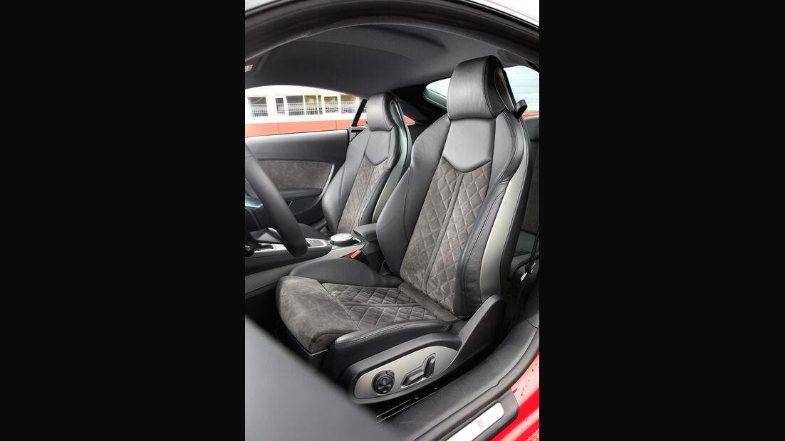 Audi TT 2.0 TFSI Quattro, Fahrersitz
