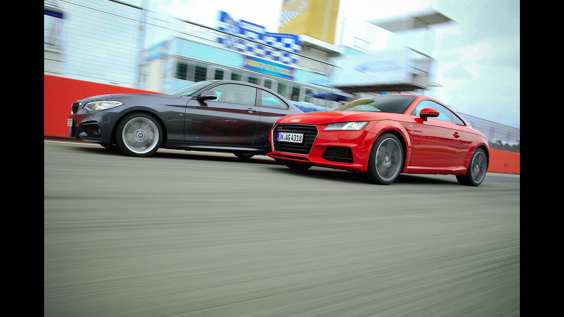 Audi TT 2.0 TFSI Quattro, Seitenansicht