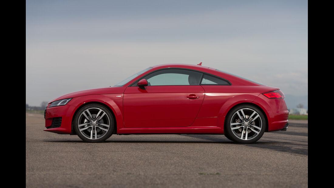 Audi TT 2.0 TFSI, Seitenansicht