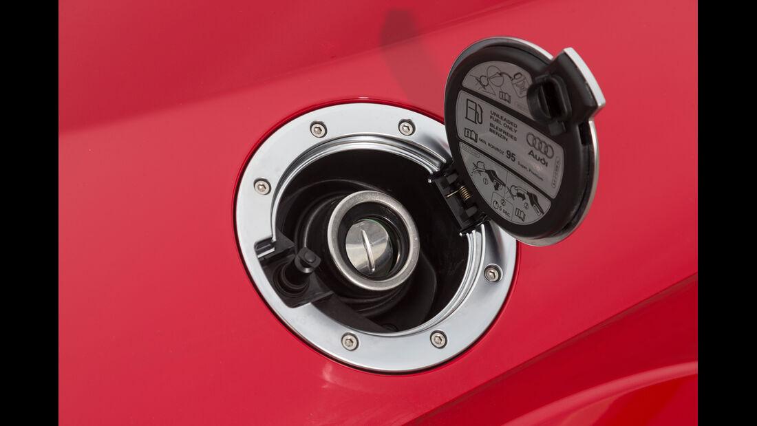Audi TT 2.0 TFSI, Tankdeckel