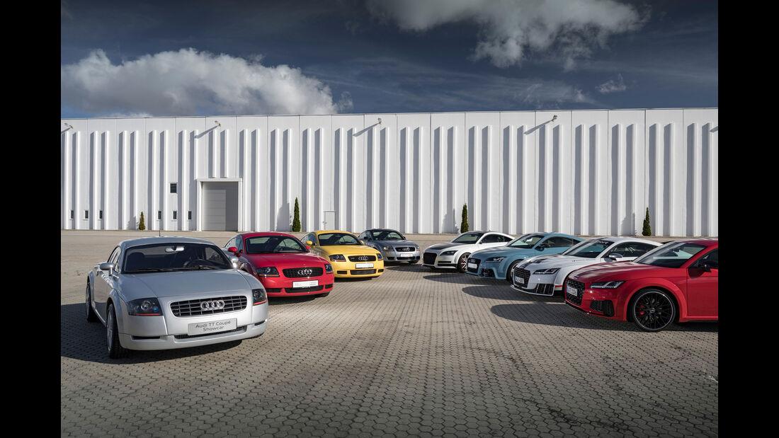 Audi TT - 20 Jahre